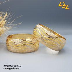 تکپوش طلا دامله 24 میل کد 1505
