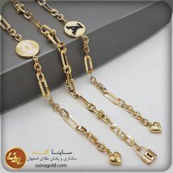 • دستبند ریخته ای کد 1455