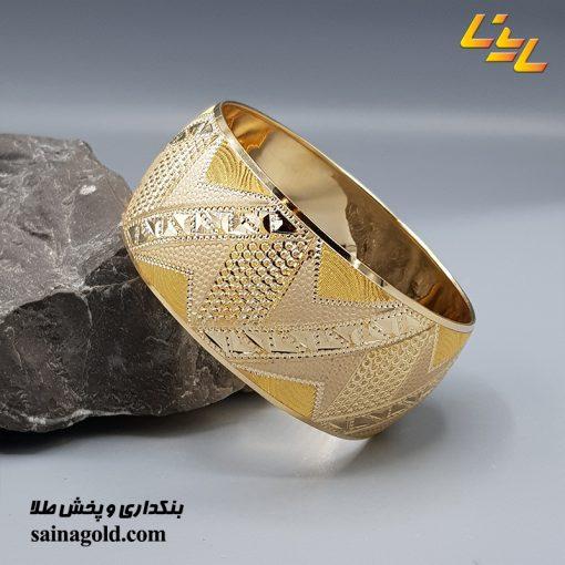 تکپوش طلا دامله 25 میل کد 1558